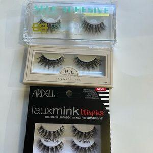 💕5/$25 Faux Eyelashes x 3